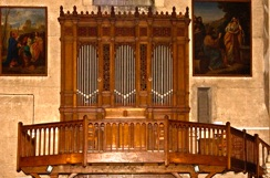 Buffet de l'orgue  ND de Lourdes