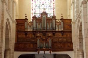 Buffet de l'orgue de la Charité-sur-Loire