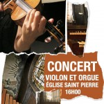 Affiche Violon et Orgue