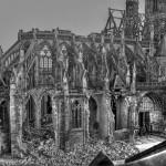 La cathédrale bombardée