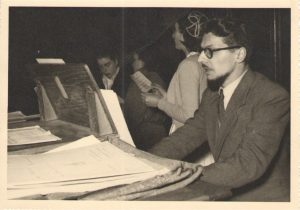Henri WÉNISCH à St Pierre en 1950