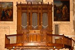Buffet de l'orgue  ND de Lourdes