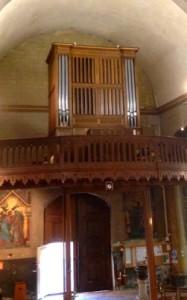 Buffet de l'orgue de Decize