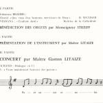 Inauguration de l'orgue cathédrale Nevers page 1