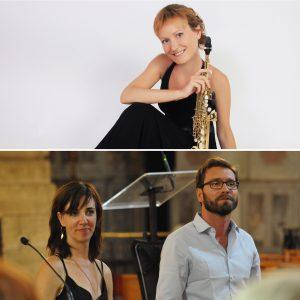 Trio : Saxophone, Comédienne et Orgue