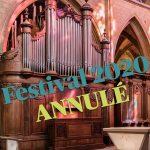 Annulation du festival 2020
