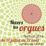 """Programme du Festival """"Nevers les Orgues"""" 2016"""